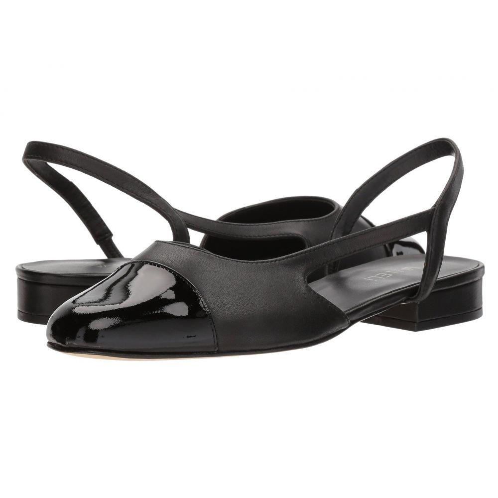ヴァネリ Vaneli レディース スリッポン・フラット シューズ・靴【Fabiyn】Black Nappa/Black Patent