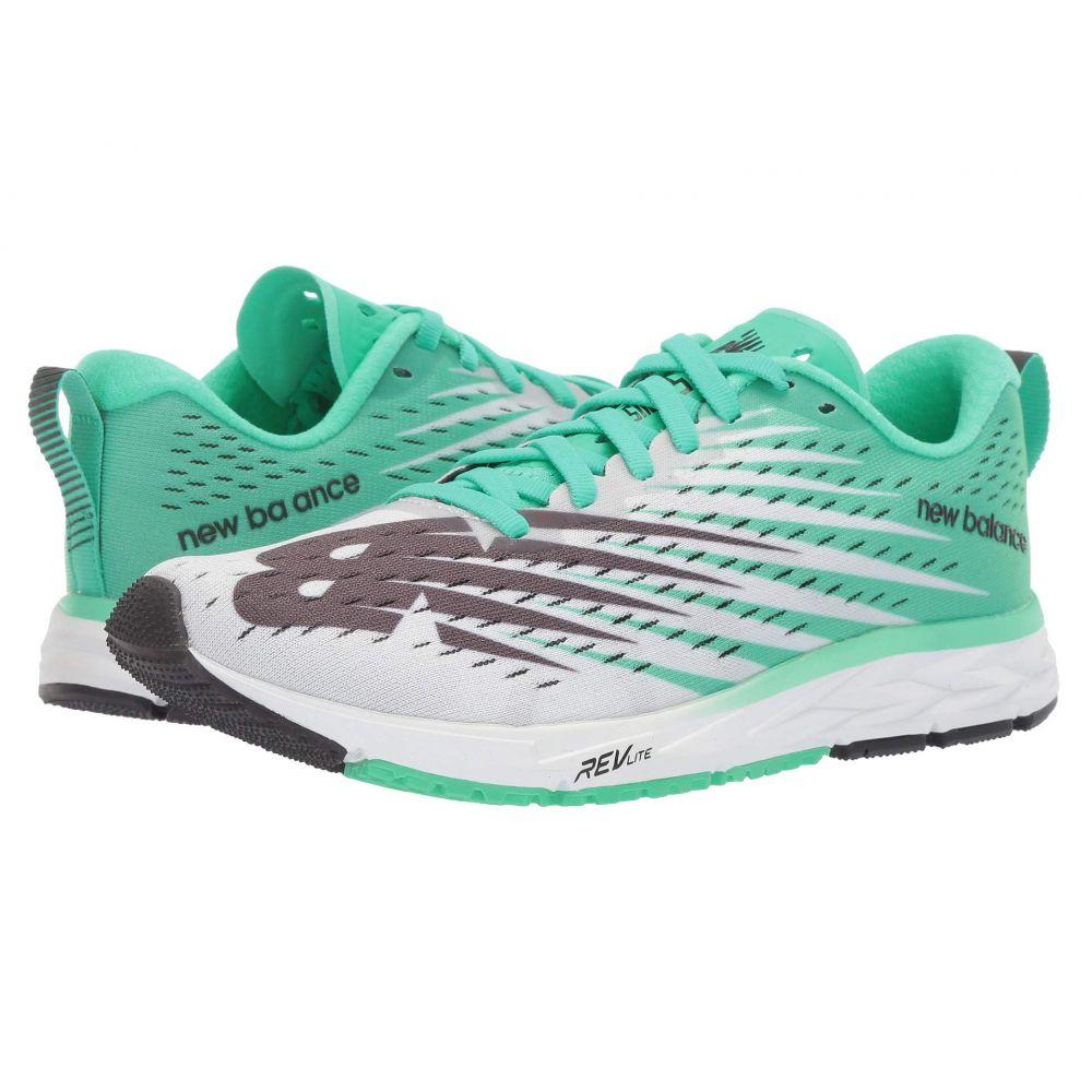 ニューバランス New Balance レディース ランニング・ウォーキング シューズ・靴【1500v5】White/Neon Emerald