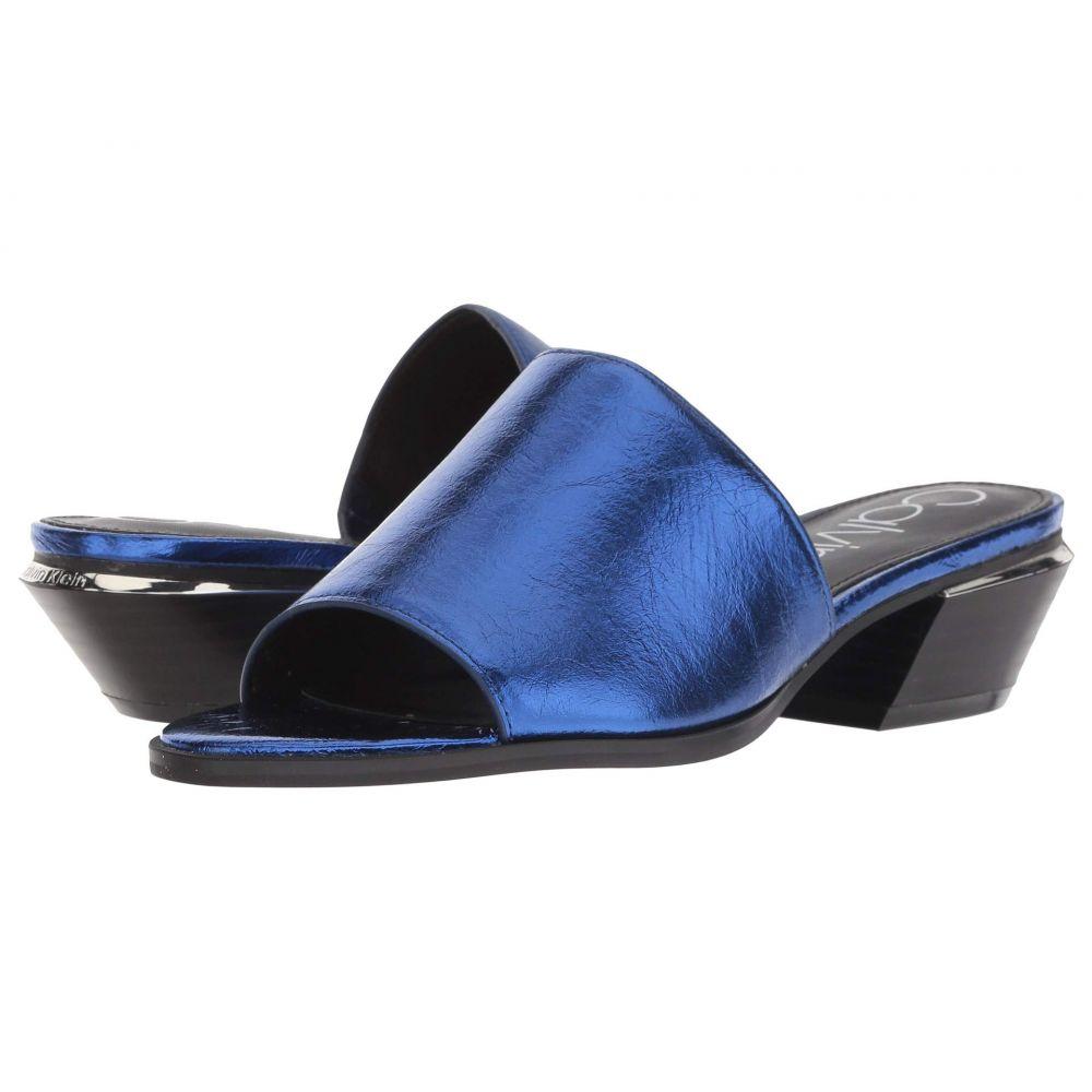 カルバンクライン Calvin Klein レディース サンダル・ミュール シューズ・靴【Narissa】Royal Blue Thrill Metallic
