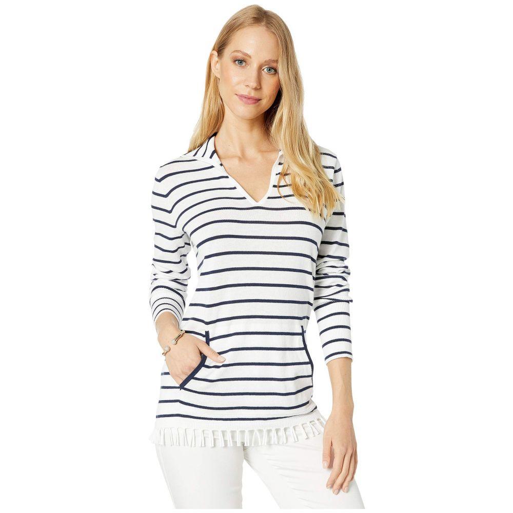 リリーピュリッツァー Lilly Pulitzer レディース ニット・セーター トップス【Crestwood Sweater】Resort White Maritime Stripe