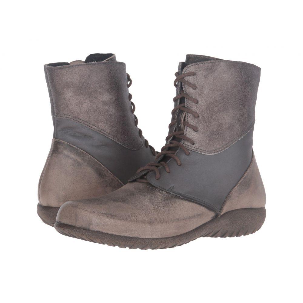 ナオト Naot レディース ブーツ シューズ・靴【Atopa】Vintage Grey Leather/Shadow Gray Leather/Gray Shimmer Leather