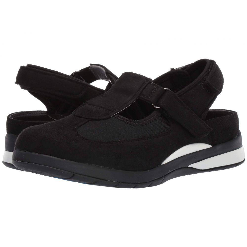 ドリュー Drew レディース スニーカー シューズ・靴【Odyssey】Black Microsuede/Stretch