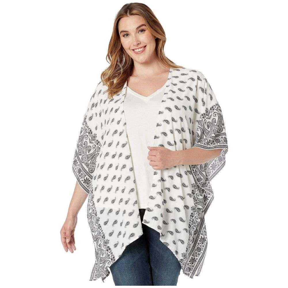 カレンケーン Karen Kane Plus レディース トップス 大きいサイズ【Plus Size Kimono Jacket】Paisley