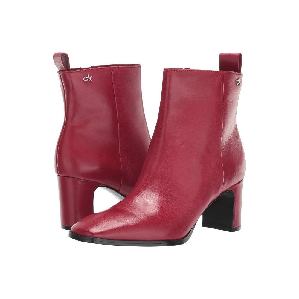 カルバンクライン Calvin Klein レディース ブーツ シューズ・靴【Deni】Barn Red Siriana