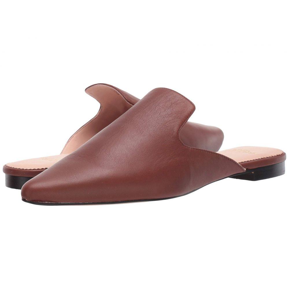 ジェイクルー J.Crew レディース サンダル・ミュール シューズ・靴【Soft Basic Leather Marina Slide】Burnished Brown