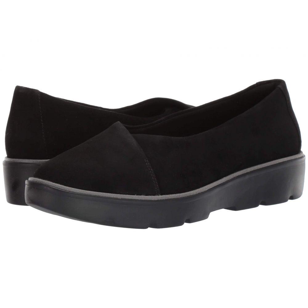 クラークス Clarks レディース ローファー・オックスフォード シューズ・靴【Un Balsa Go】Black Suede
