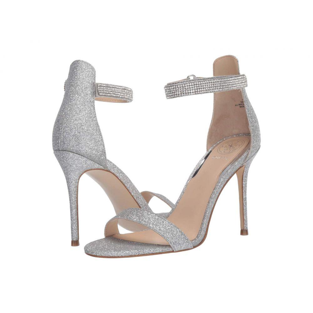 ゲス GUESS レディース サンダル・ミュール シューズ・靴【Kahluy】Silver