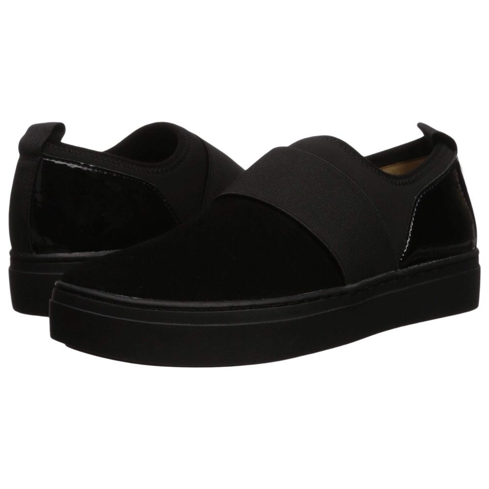 ナチュラライザー Naturalizer レディース スニーカー シューズ・靴【Cassey】Black Suede/Patent