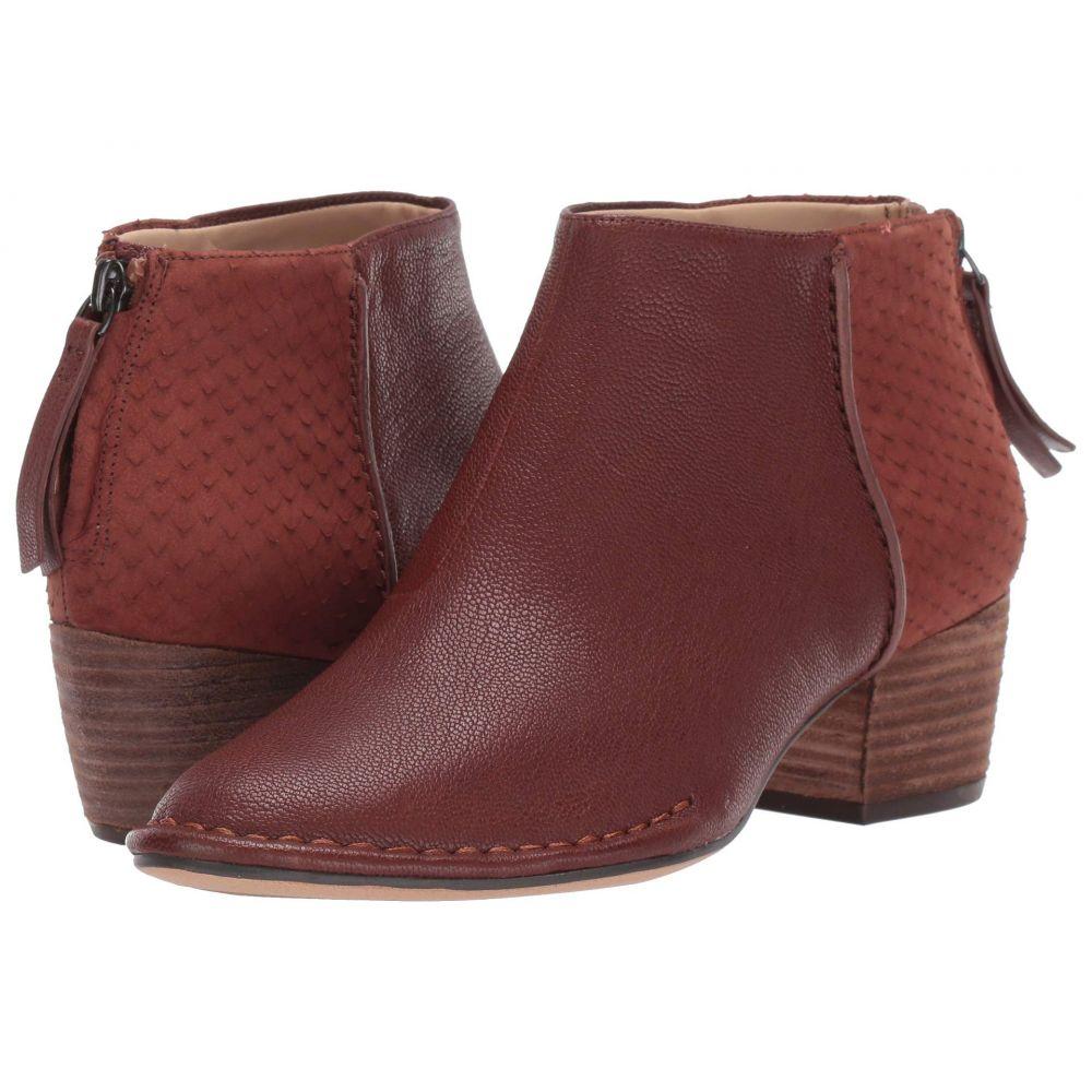 クラークス Clarks レディース ブーツ シューズ・靴【Spiced Ruby】Tan Combi Leather