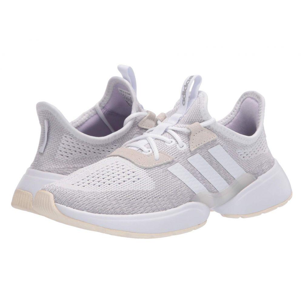アディダス adidas レディース スニーカー シューズ・靴【Mavia X】Footwear White/Footwear White/Purple Tint