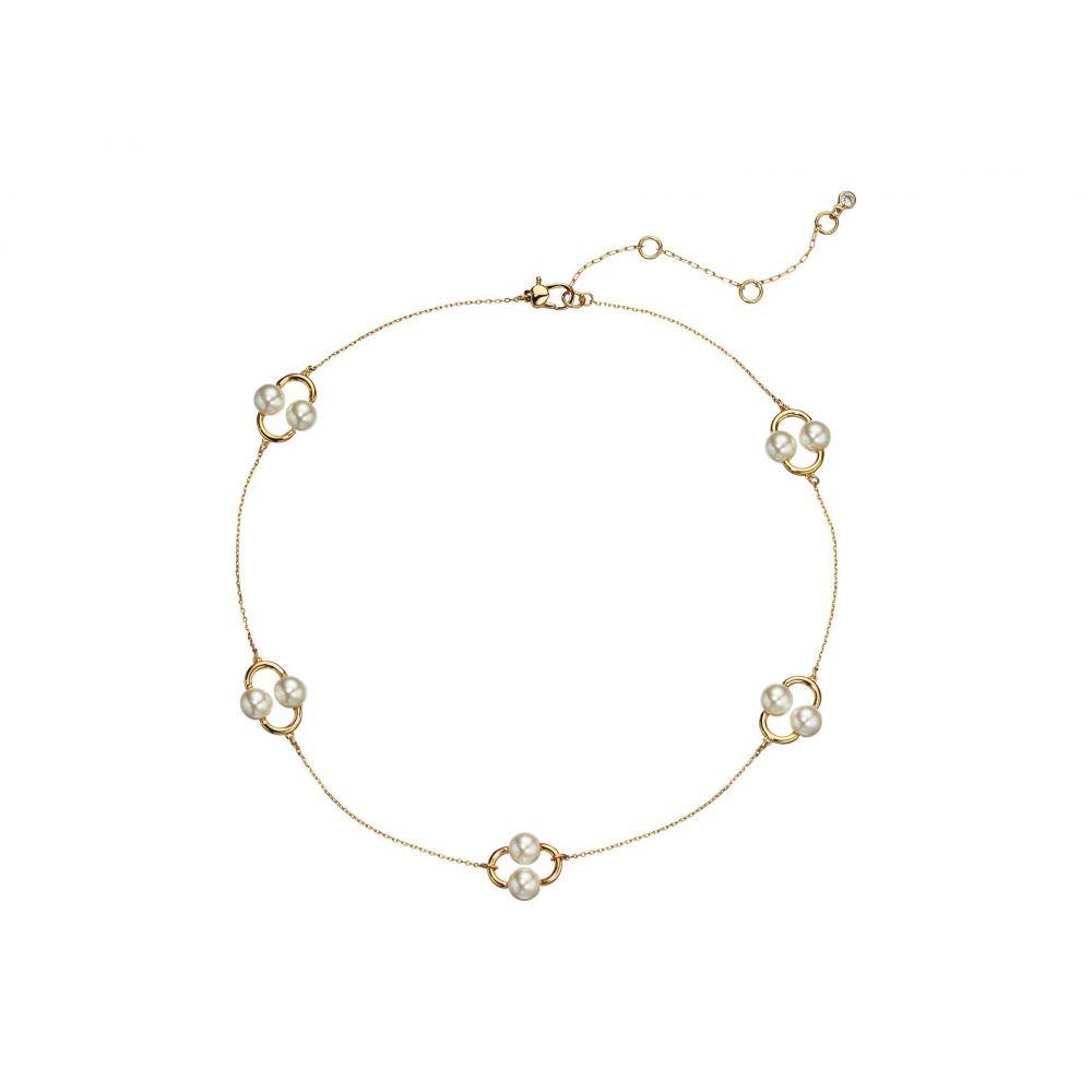 ケイト スペード Kate Spade New York レディース ネックレス ジュエリー・アクセサリー【Nouveau Pearls Necklace】White Multi