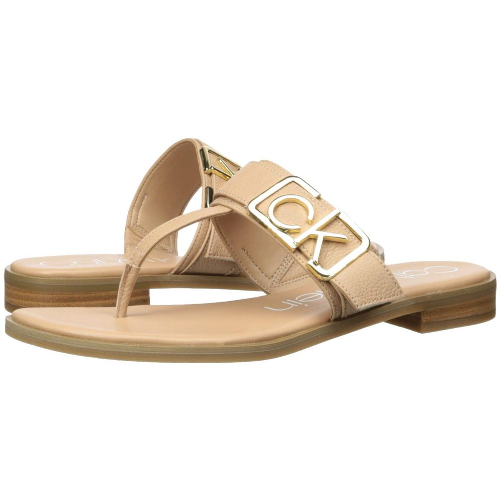 カルバンクライン Calvin Klein レディース ビーチサンダル シューズ・靴【Tamura】Desert Sand Pebble Grain