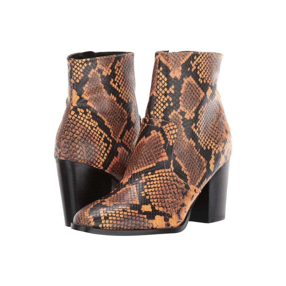スティーブ マデン Steve Madden レディース ブーツ ショートブーツ シューズ・靴【Dallas Ankle Bootie】Yellow Snake