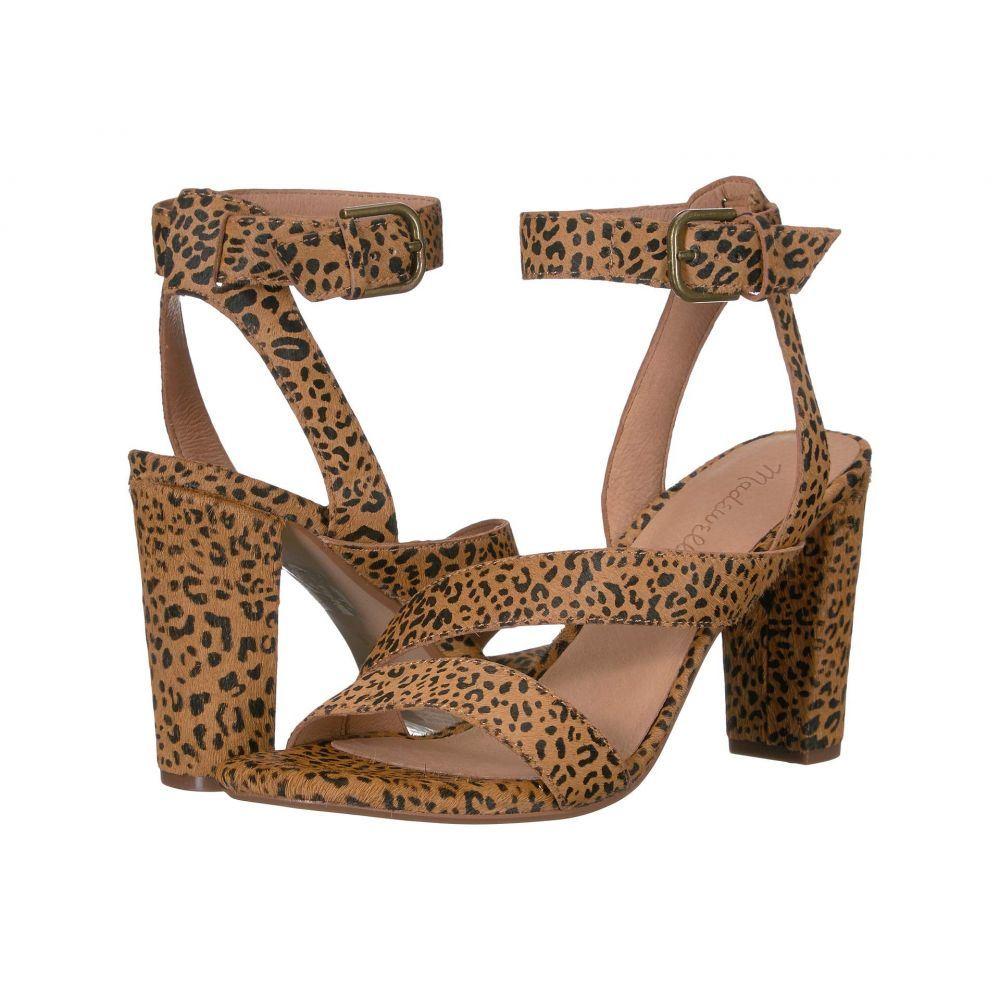 メイドウェル Madewell レディース サンダル・ミュール シューズ・靴【Tonia Asymmetric Sandal】Desert Dune Multi Leopard Haircalf