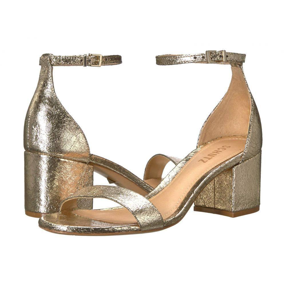 シュッツ Schutz レディース サンダル・ミュール シューズ・靴【Chimes】Platina