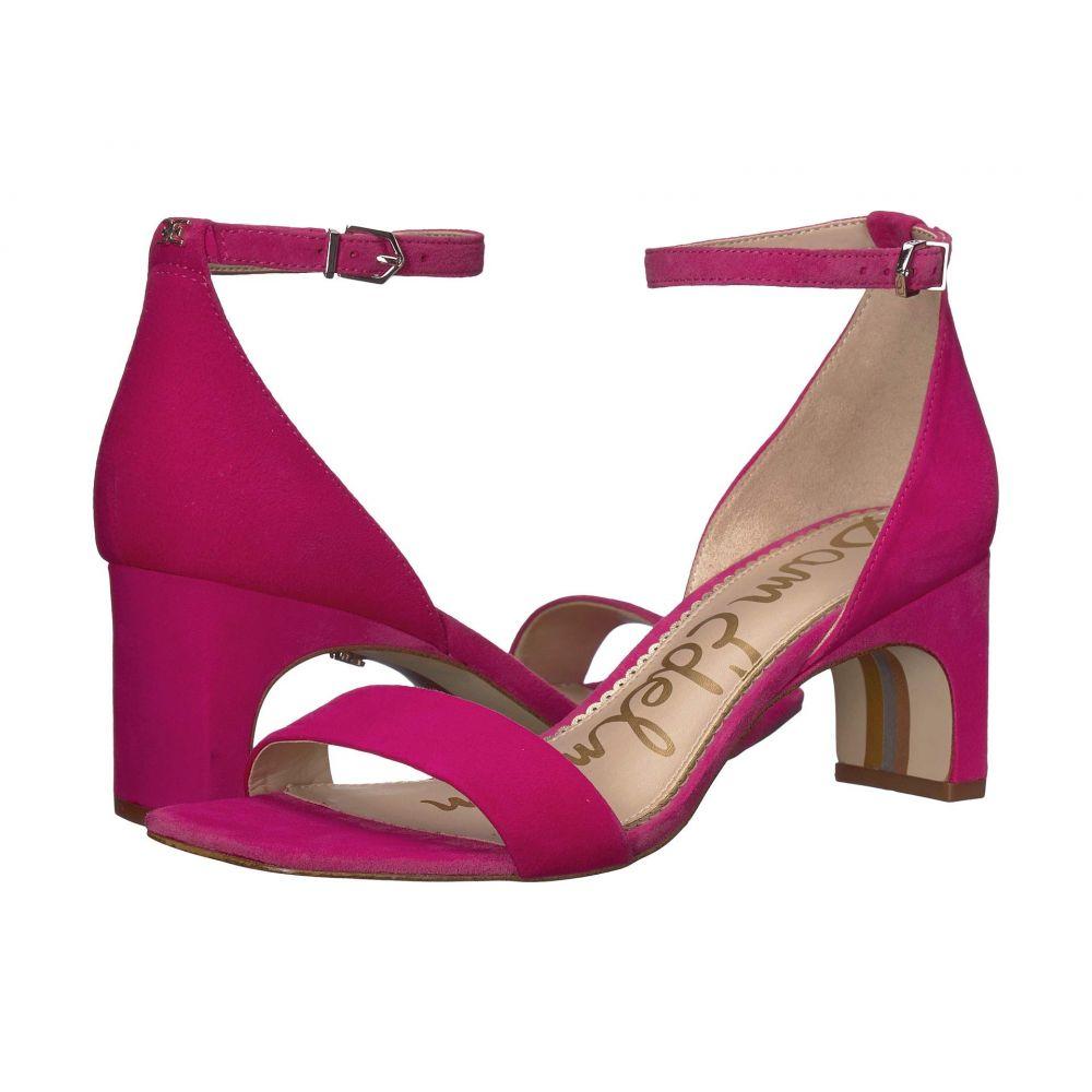 サム エデルマン Sam Edelman レディース サンダル・ミュール シューズ・靴【Holmes】Pink Peony Suede Leather