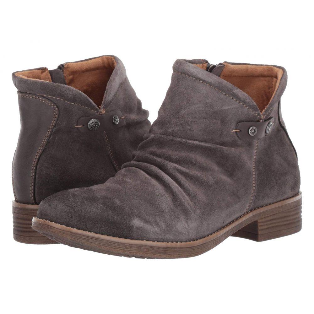 コンフォーティヴァ Comfortiva レディース ブーツ シューズ・靴【Tarrant】Steel Grey Cow Suede/La Mesa
