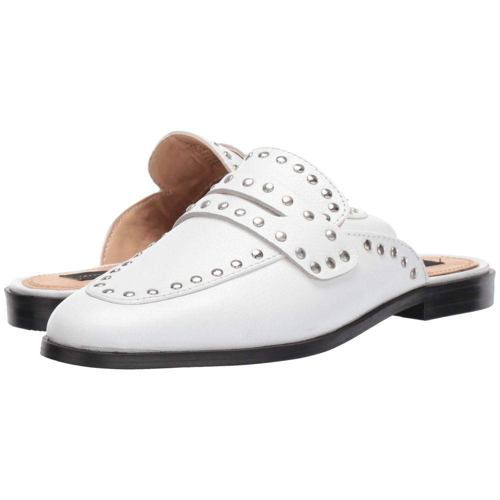 スティーブン Steven レディース ローファー・オックスフォード シューズ・靴【Airy】White Leather