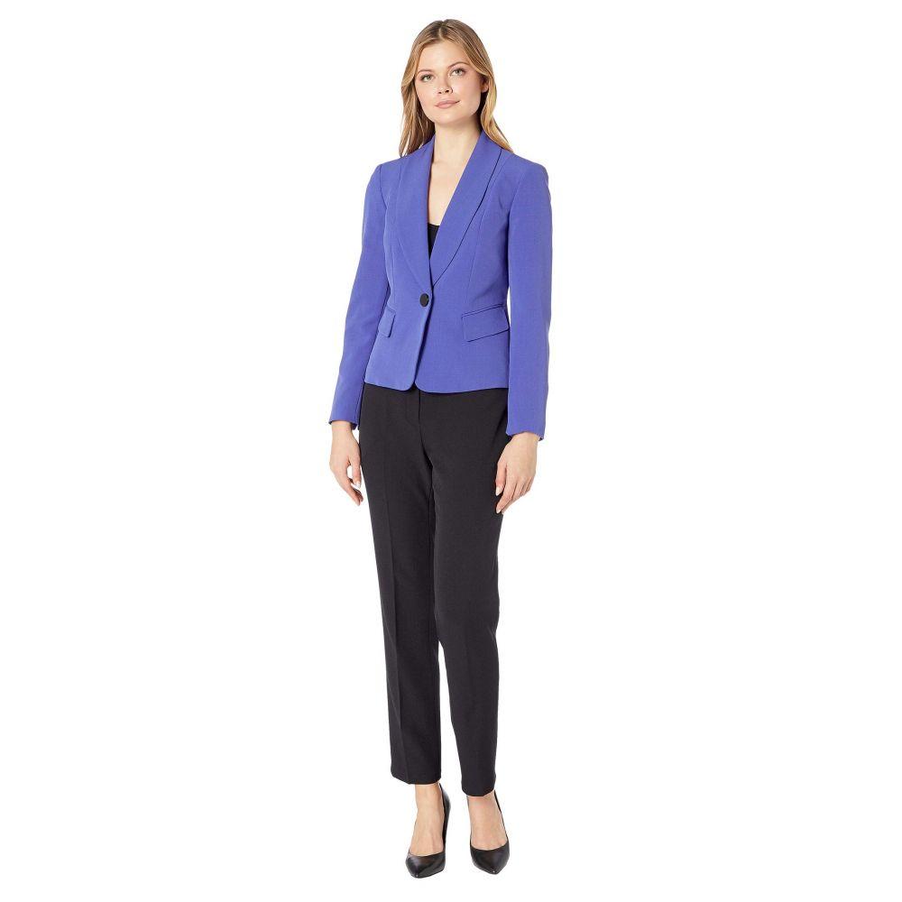ル スーツ Le Suit レディース スーツ・ジャケット アウター【Jacket/Pants Suit Set】Marino Blue/Black