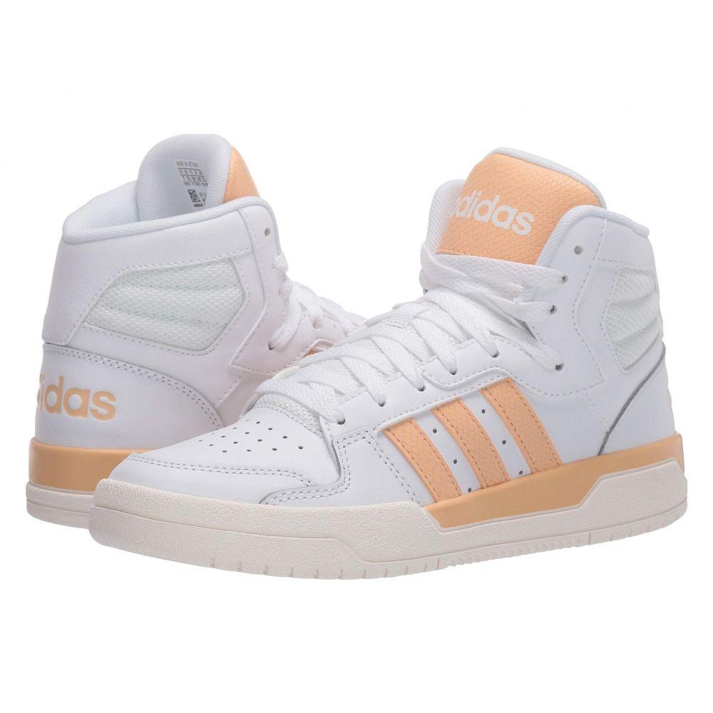 アディダス adidas レディース スニーカー シューズ・靴【Entrap Mid】Footwear White/Glow Orange/Cloud White