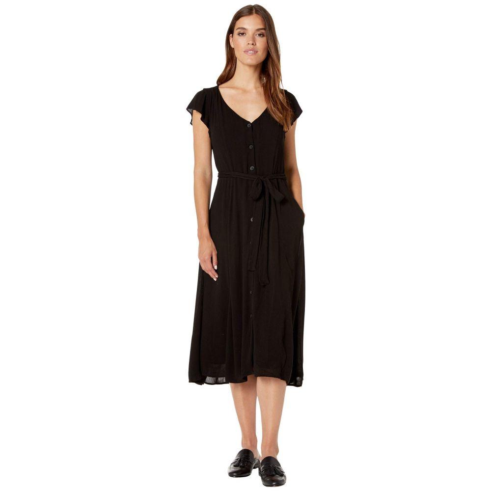 サンクチュアリ Sanctuary レディース ワンピース ワンピース・ドレス【Eden Button Front Dress】Black