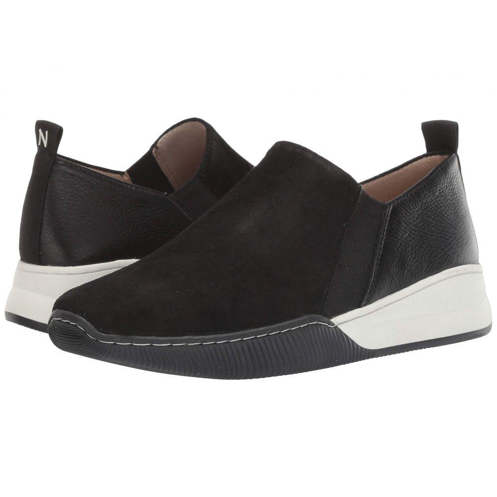 ナチュラライザー Naturalizer レディース スニーカー シューズ・靴【Untold】Black Suede/Pebble Leather
