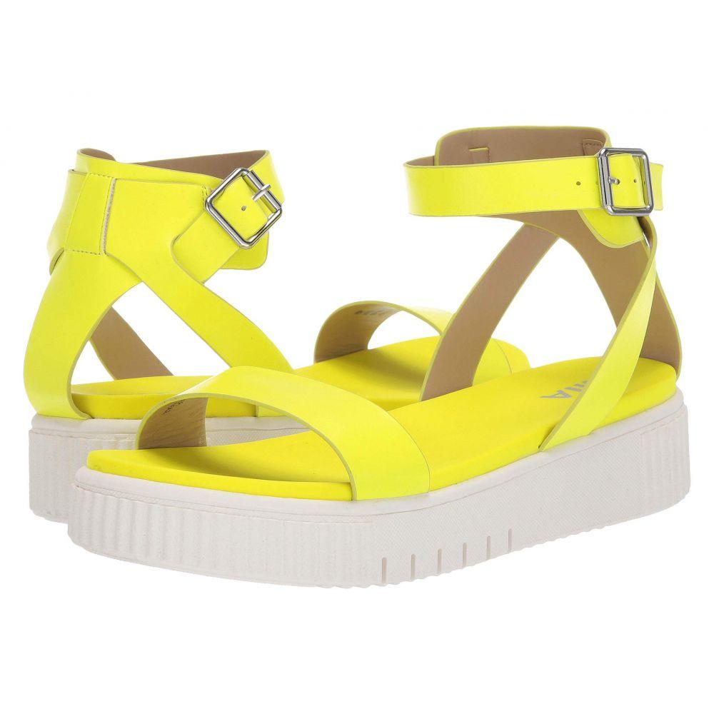 ミア MIA レディース サンダル・ミュール シューズ・靴【Lunna】Neon Yellow