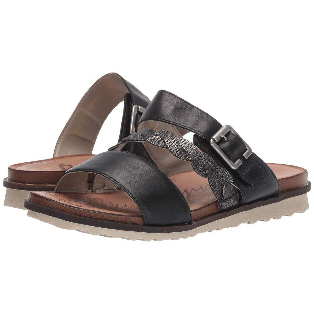リエカー Rieker レディース サンダル・ミュール シューズ・靴【R2757-01】Schwarz/Schwarz/Metallic