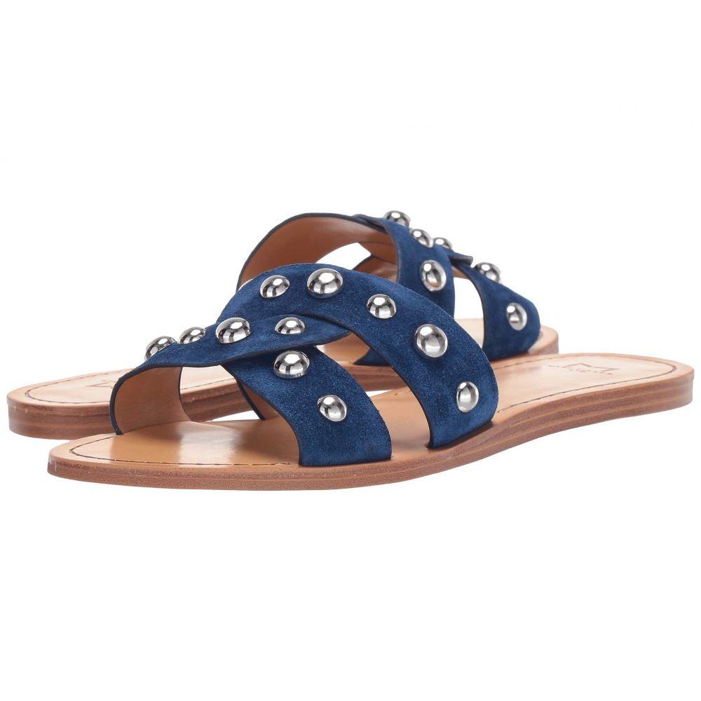 マーク フィッシャー Marc Fisher LTD レディース サンダル・ミュール シューズ・靴【Pagie】Medium Blue Suede