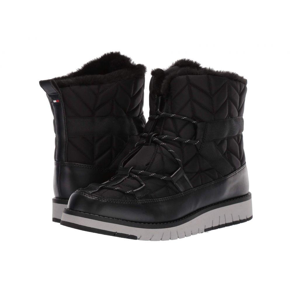 トミー ヒルフィガー Tommy Hilfiger レディース ブーツ シューズ・靴【Harvest】Black Multi Fabric