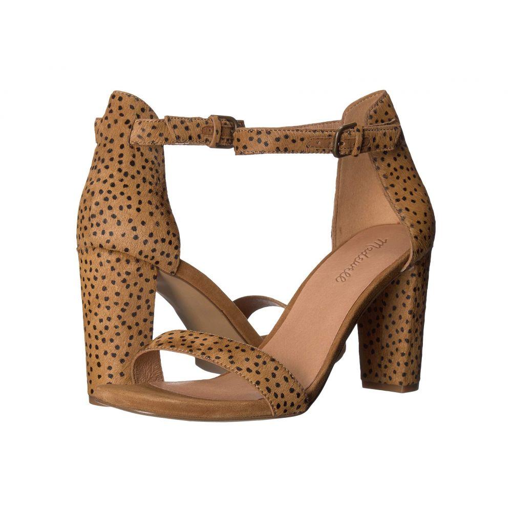 メイドウェル Madewell レディース サンダル・ミュール シューズ・靴【Brooke Ankle-Strap Sandal】Equestrian Brown Spot Dot