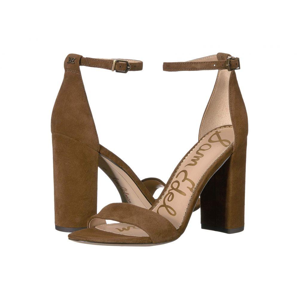 サム エデルマン Sam Edelman レディース サンダル・ミュール アンクルストラップ シューズ・靴【Yaro Ankle Strap Sandal Heel】Hazelnut Suede Leather