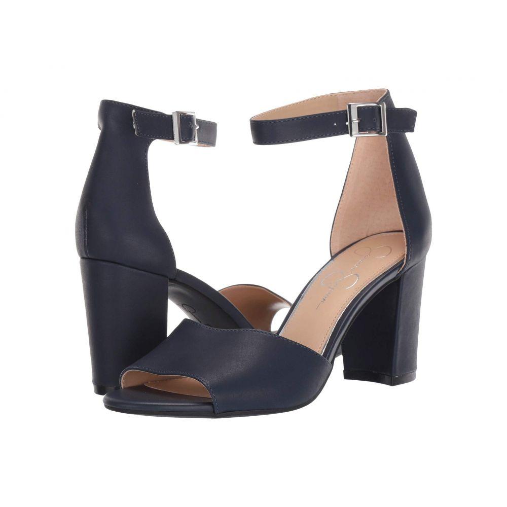 ジェシカシンプソン Jessica Simpson レディース サンダル・ミュール シューズ・靴【Sherron】Vessel Blue Soft Silky Leather