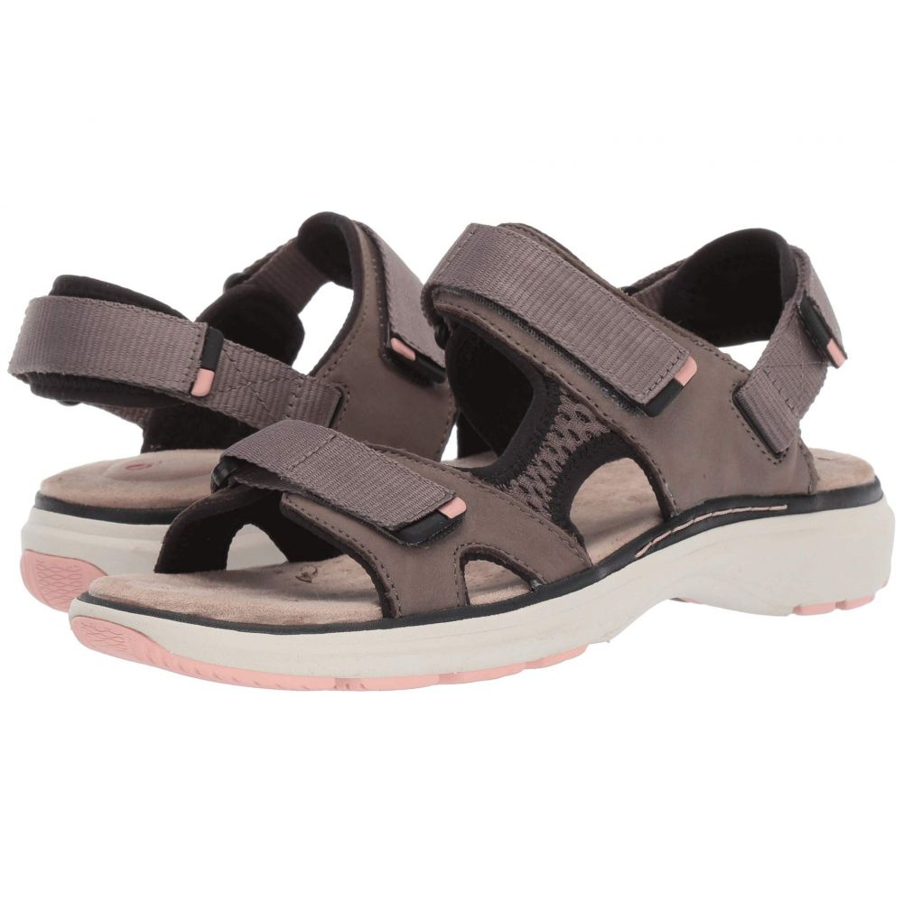 クラークス Clarks レディース サンダル・ミュール シューズ・靴【Un Roam Step】Taupe Nubuck
