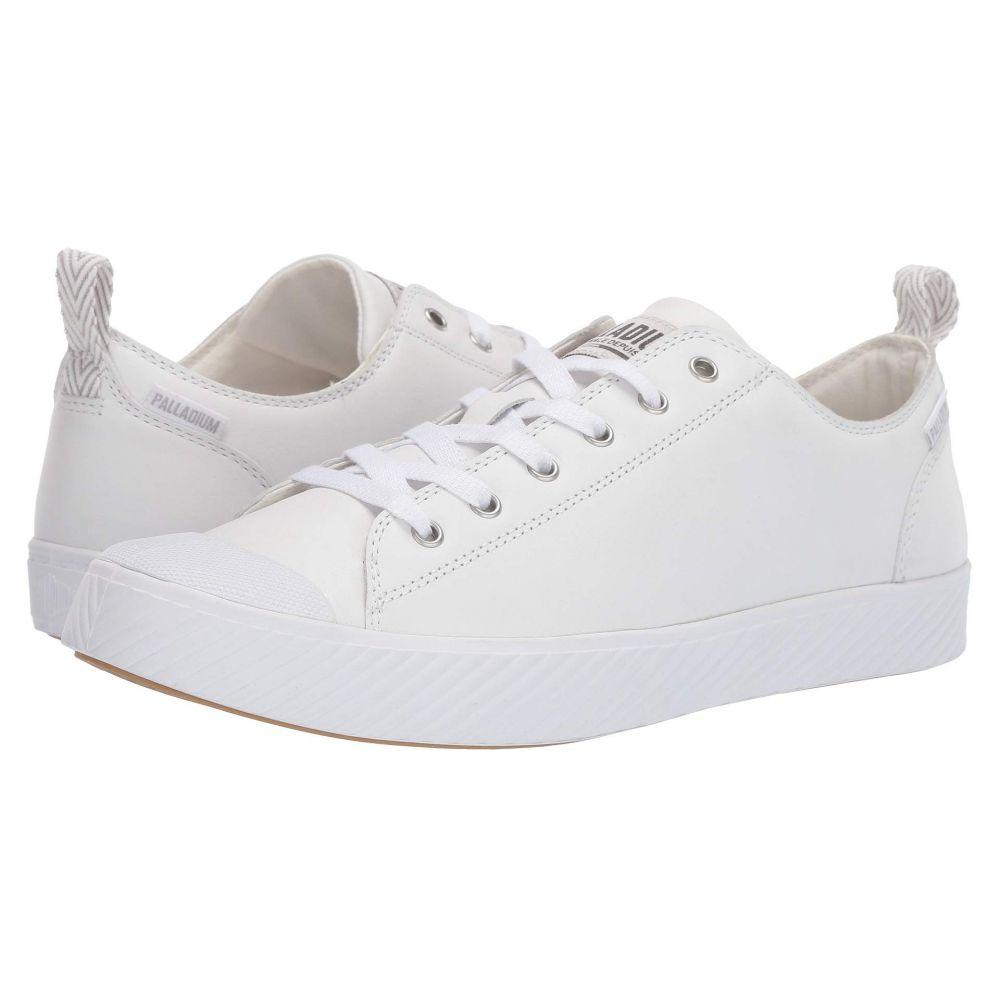 パラディウム Palladium レディース スニーカー シューズ・靴【Pallaphoenix Low Leather】White/Ash