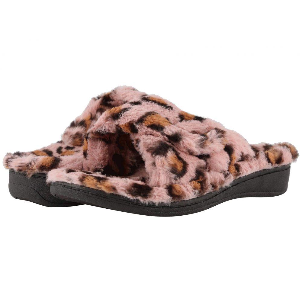 バイオニック VIONIC レディース サンダル・ミュール シューズ・靴【Relax Leopard】Pink Leopard