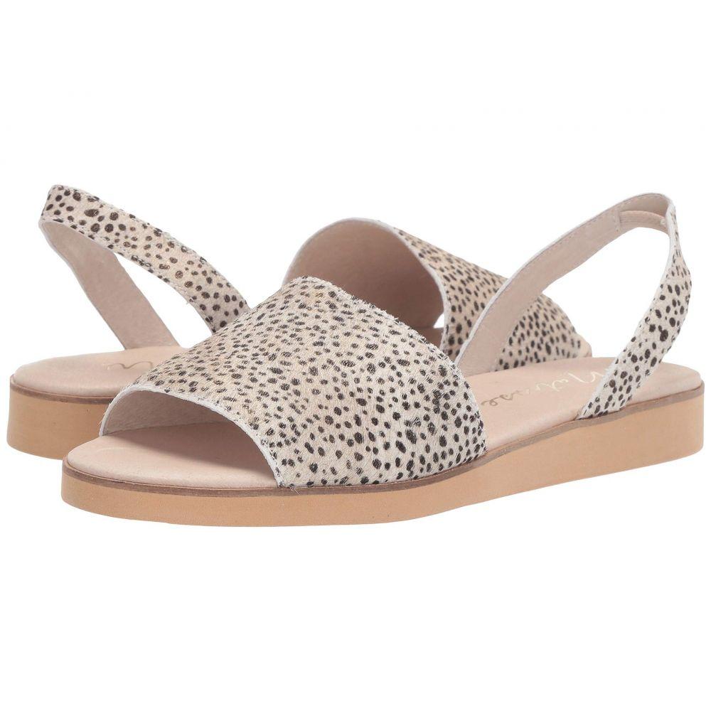 マチス Matisse レディース サンダル・ミュール フラット シューズ・靴【Easy Flat Sandal】Dalmation Cowhair