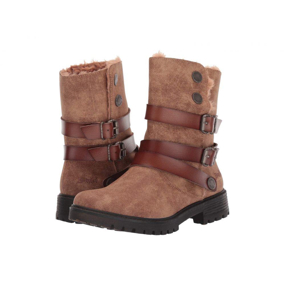 ブローフィッシュ Blowfish レディース ブーツ シューズ・靴【Radiki SHR】Caramel Ojai PU/Brown Dyecut