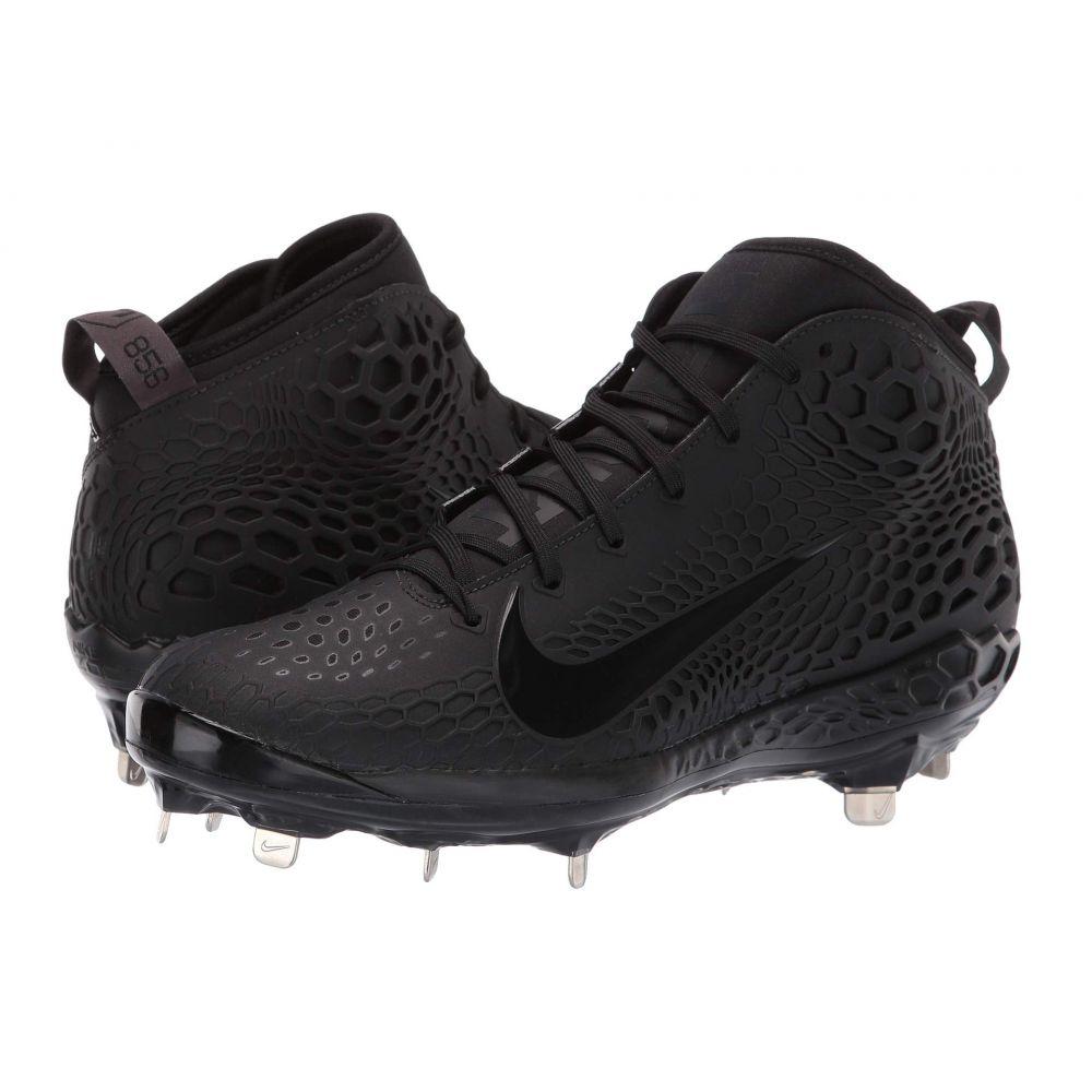 ナイキ Nike メンズ 野球 シューズ・靴【Force Zoom Trout 5】Black/Black/Black/Thunder Grey