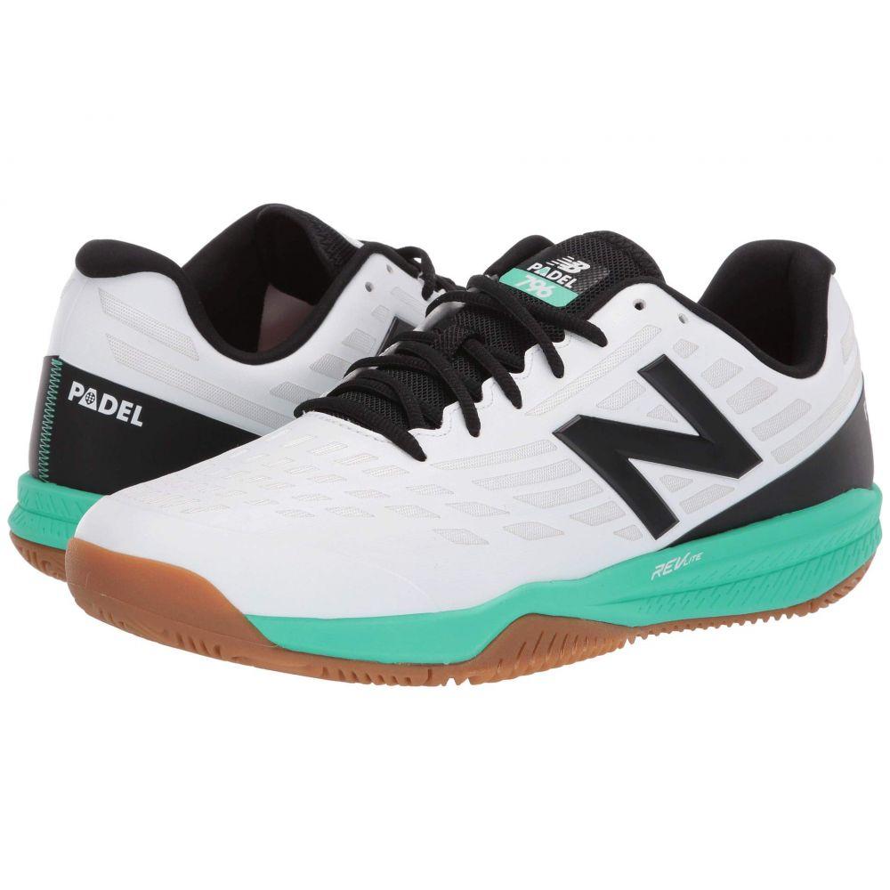 ニューバランス New Balance メンズ テニス シューズ・靴【MCH796v1】White/Neon Emerald