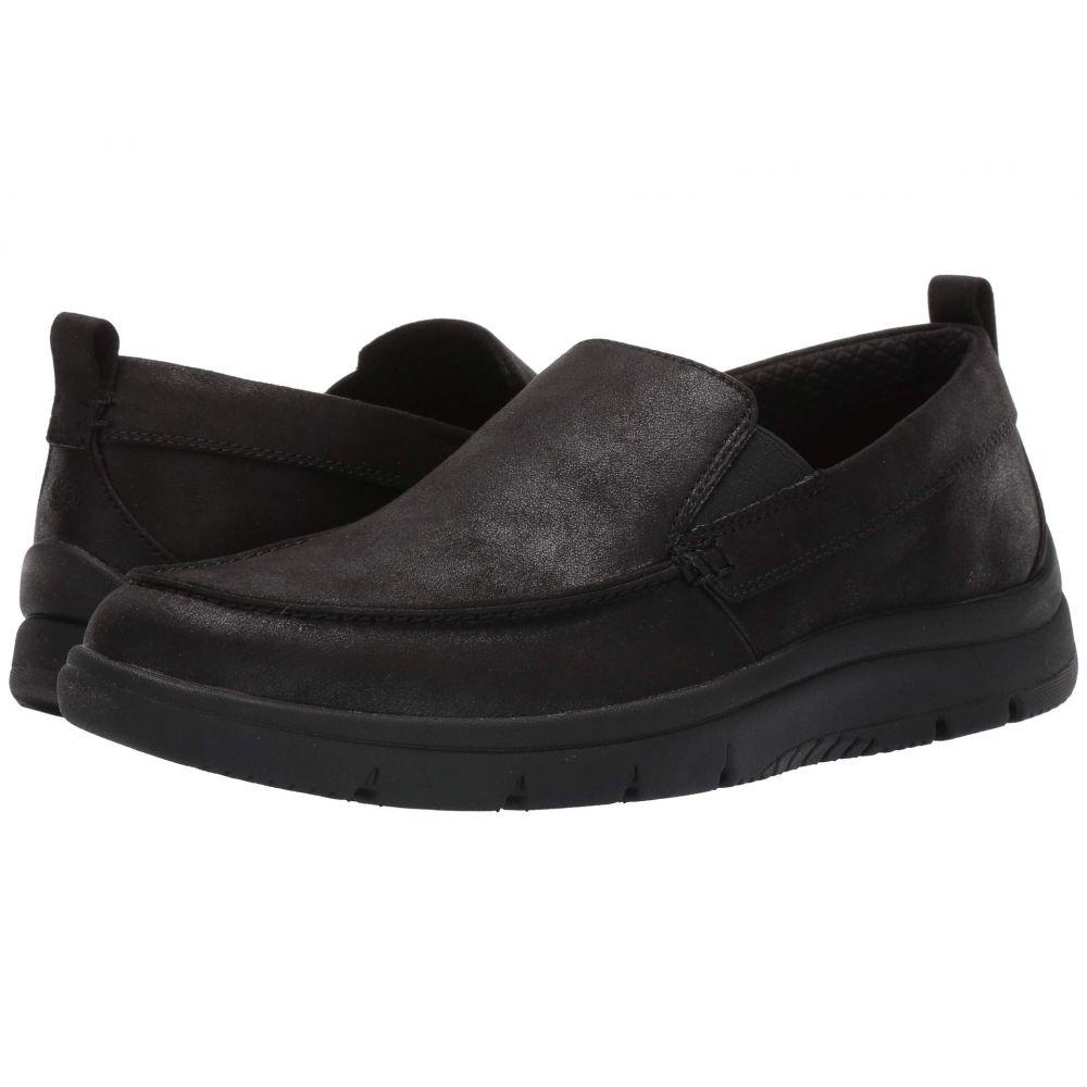 クラークス Clarks メンズ ローファー シューズ・靴【Tunsil Way】Black Synthetic