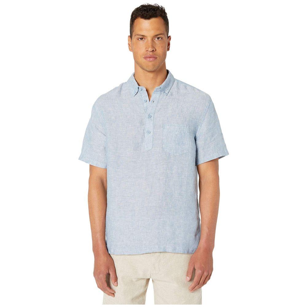 オニア onia メンズ シャツ トップス【Josh Pullover Shirt】Stone Blue