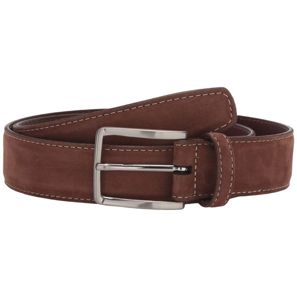トリノレザー Torino Leather Co. メンズ ベルト 【35 mm Italian Nubuck Calf】Whiskey