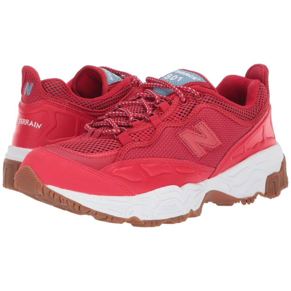 ニューバランス New Balance Classics メンズ スニーカー シューズ・靴【801】Team Red/White Munsell Leather