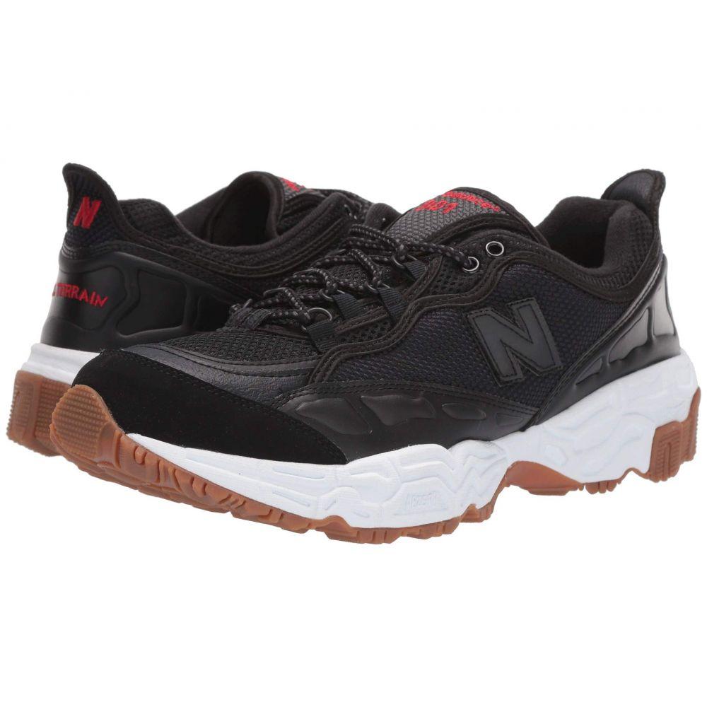 ニューバランス New Balance Classics メンズ スニーカー シューズ・靴【801】Black/White Munsell Leather
