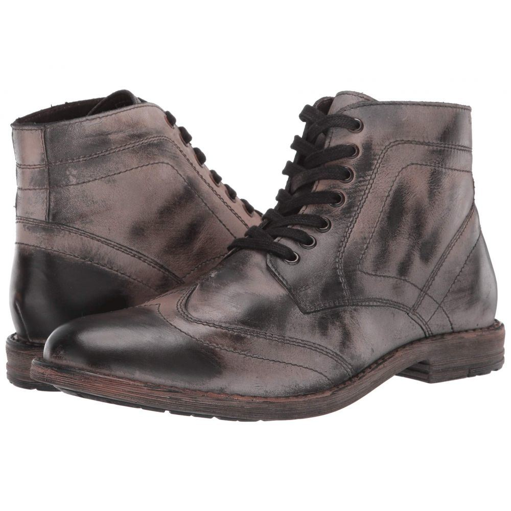 ロエン Roan メンズ ブーツ シューズ・靴【Outlaw II】Dark Grey Nappa/Rust BFS
