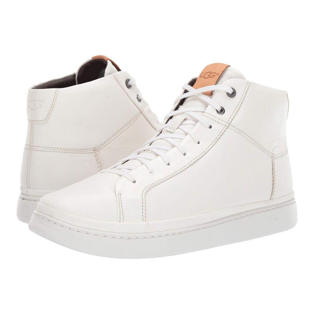 アグ UGG メンズ スニーカー ハイカット シューズ・靴【Cali Sneaker High】White