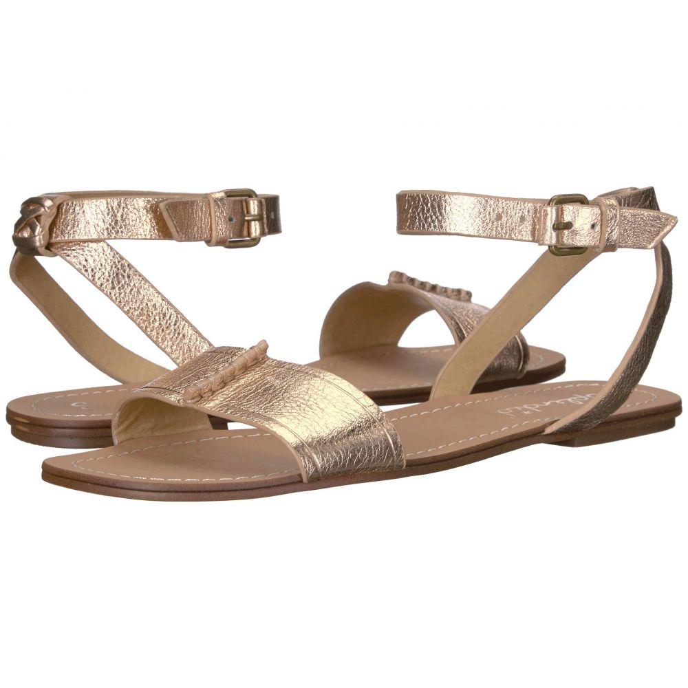 スプレンディッド Splendid レディース サンダル・ミュール シューズ・靴【Tabitha】Rose Gold Soft Tumbled Metallic Leather