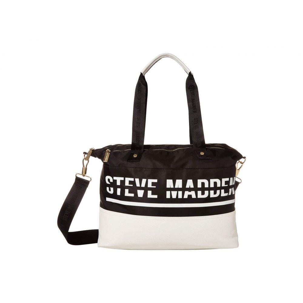 スティーブ マデン Steve Madden レディース ボストンバッグ・ダッフルバッグ バッグ【Bgym Duffel Bag】Black
