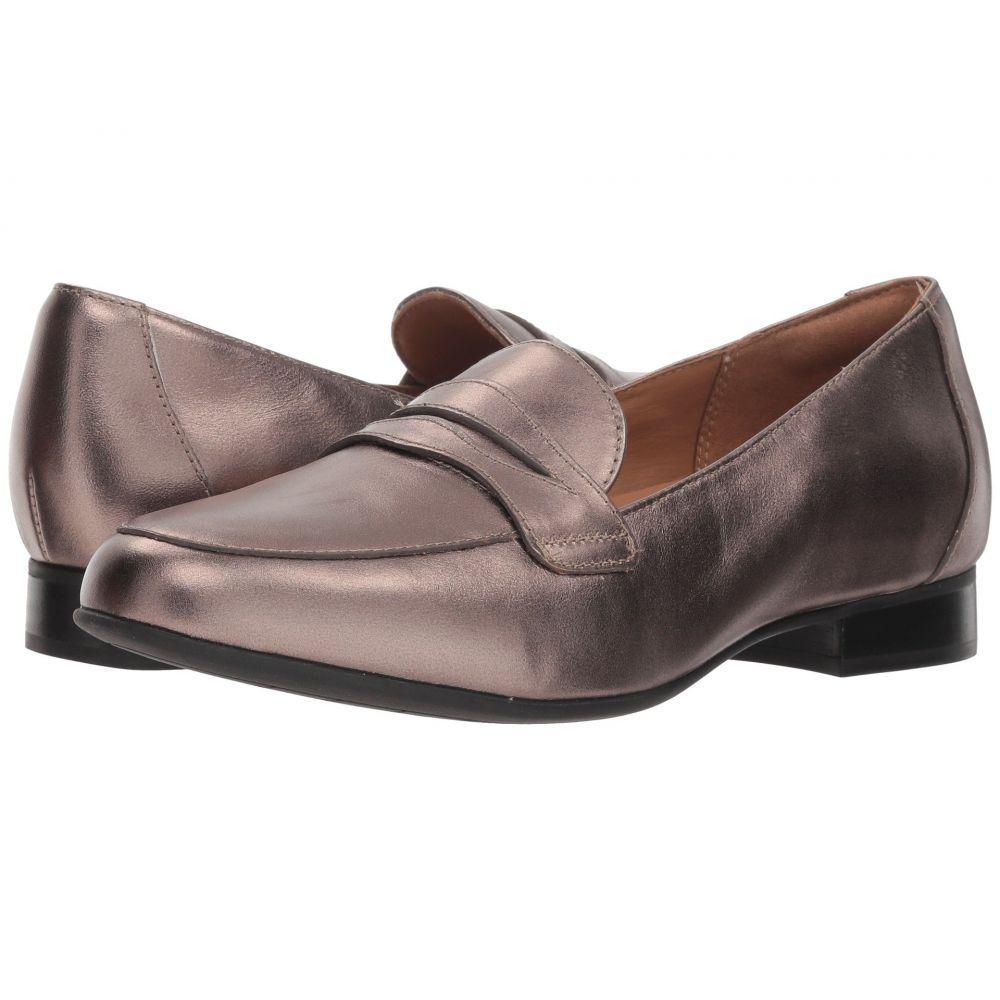 クラークス Clarks レディース ローファー・オックスフォード シューズ・靴【Un Blush Go】Pebble Metallic Leather